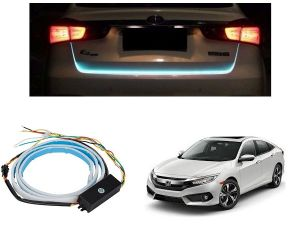 Trigcars Honda Civic Car Dicky LED Light Car Bluetooth
