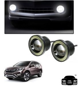 Trigcars Honda Cr-v Car High Power Fog Light With Angel Eye