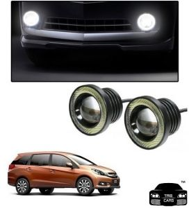 Trigcars Honda Mobilio Car High Power Fog Light With Angel Eye