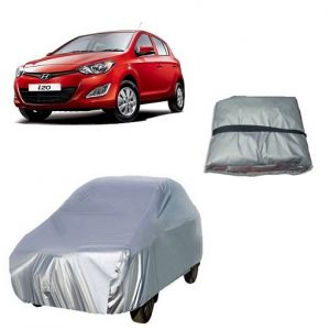 Body covers for cars - Trigcars Hyundai i20 New Car Cover Silver