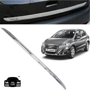 Chrome beading for cars - Trigcars Maruti Suzuki S Cross Car Chrome Dicky Garnish