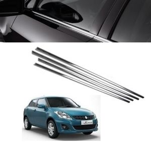 Trigcars Maruti Suzuki Swift Dzire 2012 Car Window Lower Garnish