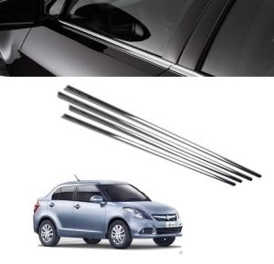 Trigcars Maruti Suzuki Swift Dzire 2016 Car Window Lower Garnish
