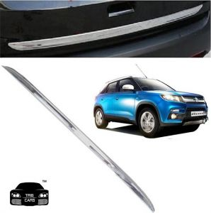 Chrome beading for cars - Trigcars Maruti Suzuki Vitara Brezza Car Chrome Dicky Garnish
