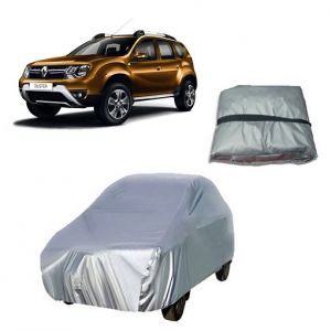 Body covers for cars - Trigcars Renault Duster Car Cover Silver