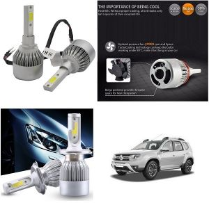 Car Accessories - Trigcars Renault Duster Car LED HID Head Light