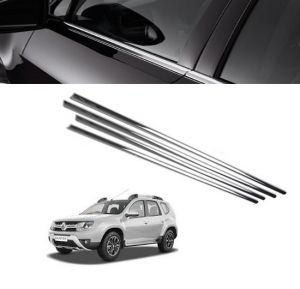 Chrome beading for cars - Trigcars Renault Duster Car Window Lower Garnish