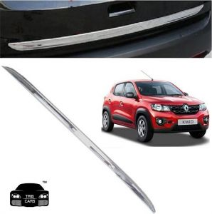 Car Accessories - Trigcars Renault Kwid Car Chrome Dicky Garnish