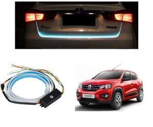 Led lights for cars - Trigcars Renault Kwid Car Dicky LED Light   Car Bluetooth
