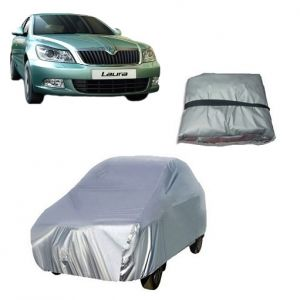 Body covers for cars - Trigcars Skoda Laura Car Cover Silver