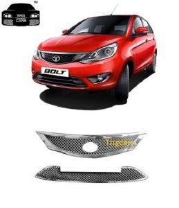 Car Accessories - Trigcars Tata Bolt Car Front Grill Chrome Plated