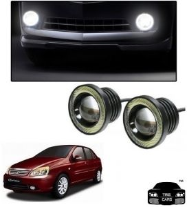 Trigcars Tata Indigo Cs Car High Power Fog Light With Angel Eye