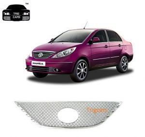 Trigcars Tata Manza Car Front Grill Chrome Plated