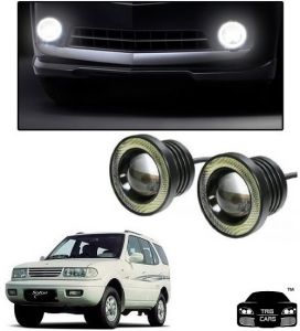Trigcars Tata Safari Dicor Car High Power Fog Light With Angel Eye