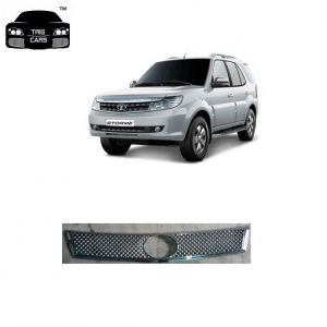 Trigcars Tata Safari Storme Car Front Grill Chrome Plated