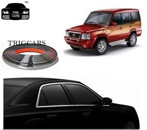 Chrome beading for cars - Trigcars Tata Sumo Gold Car Side Window Chrome Beading Moulding Roll   Car Bluetooth