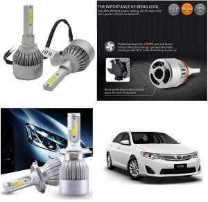 Car Accessories - Trigcars Toyota Camry Car LED HID Head Light