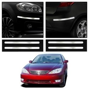 Safety guards - Trigcars Toyota Camry Old Car Chrome Bumper Scratch Potection Guard   Car Bluetooth