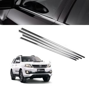 Chrome beading for cars - Trigcars Toyota Fortuner Old Car Window Lower Garnish