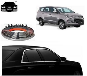 Chrome beading for cars - Trigcars Toyota Innova Crysta Car Side Window Chrome Beading Moulding Roll   Car Bluetooth