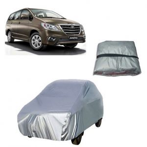 Car Accessories - Trigcars Toyota Innova New Car Cover Silver