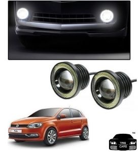 Trigcars Volkswagen Polo Car High Power Fog Light With Angel Eye