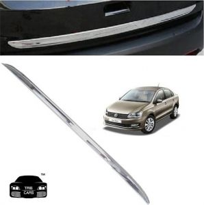 Car Accessories - Trigcars Volkswagen Vento Car Chrome Dicky Garnish