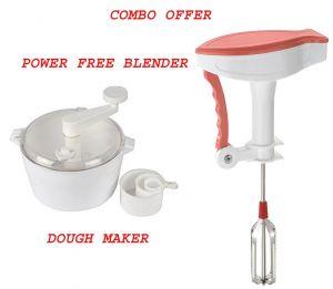 Egg Beater Butter Milk Maker Mixer Power Free Hand Blender With Dough Maker