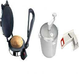 Electric Roti Maker   Dough Maker  6 In 1 Vegetable Slicer Combo Offer.