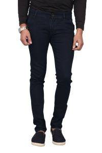 Waiverson Slim Fit Dark Navy Blue Stretchable Men