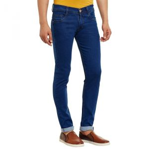Waiverson Dark Blue Slim Fit Men