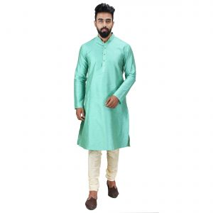 Limited Edition Cotton Silk Regular Fit Self Design Kurta Pajama ( Code - Akakkuset0053)