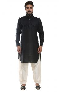Men Pathani Suit Set Cotton Silk( Code - Akakpth03)