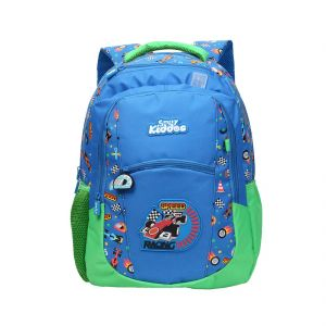 760088e87464 Smily Kiddos Smily Dual Color Backpack (Blue). Rs. 1