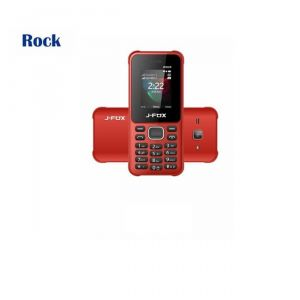 Dual sim feature phones (Misc) - J-FOX Rock Dual Sim Mobile Phone with Rear Camera MP 3 & MP 4  Player