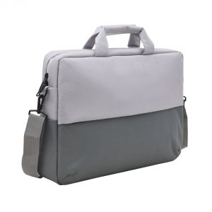 Aquador Laptop Cum Messenger Bag With Grey Matty Fabric ( Code - Ab-mat-1479-grey )