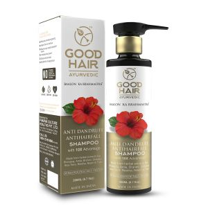 Good Hair Ayurvedic Anti Dandruff & Anti Hairfall Shampoo 200 Ml