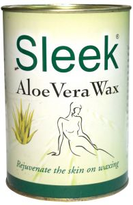 Sleek Aloevera Wax For Hair Removal 1200 Gms - ( Code - 8908006707522 )