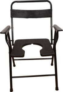 Kudize Commode Black Chair (code - Ch12)