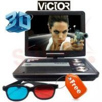 7.8 Inches 3d Portable DVD Player With USB And SD Card