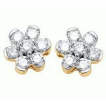 Ag Real Diamond Stone Earring Agse0110