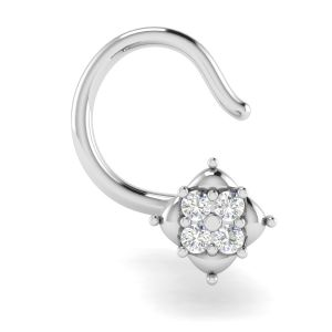 Buy Silver Nose Pins Rings Online Best Price In India