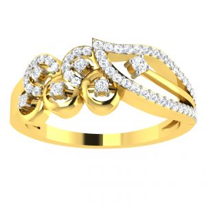 Avsar Real Gold 14k Ring (code - Avr357yb)