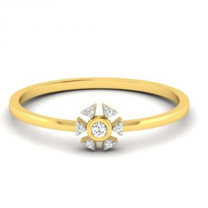 Avsar Real Gold 14k Ring (code - Avr407yb)