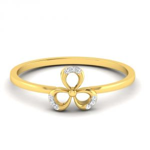 Avsar Real Gold 14k Ring (code - Avr408yb)