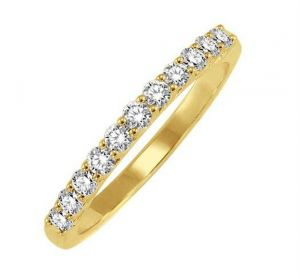 0.22 Ct Engagement 14k Gold Diamond Rings Intr0080