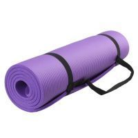 Extra Thick Non-slip Durable 15mm Yoga Cum Camping Mat