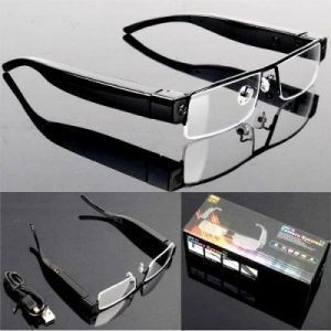 Electronics - Super Resolution Full HD 1080p Spy Camera Glasses Eyewear
