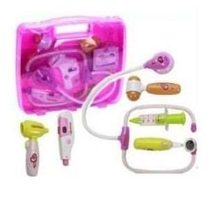 Doctor Set Battery Operated Kids Toy Light N Sound Effects