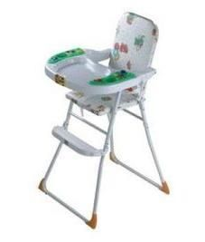 Kids Attractive Foldable Baby High Chair With Tray